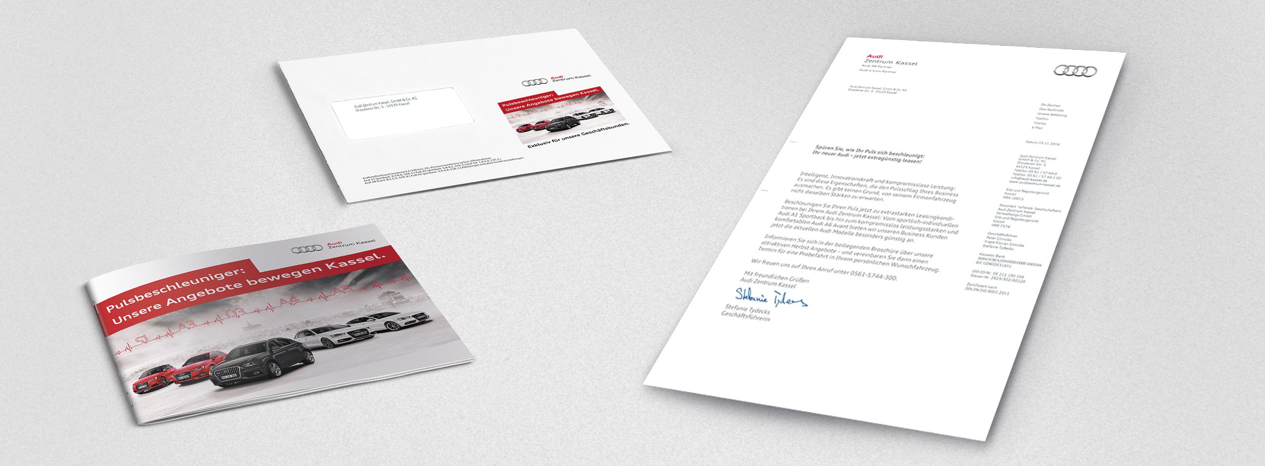intonic werbeagentur audizentrum kassel kampagne mailing