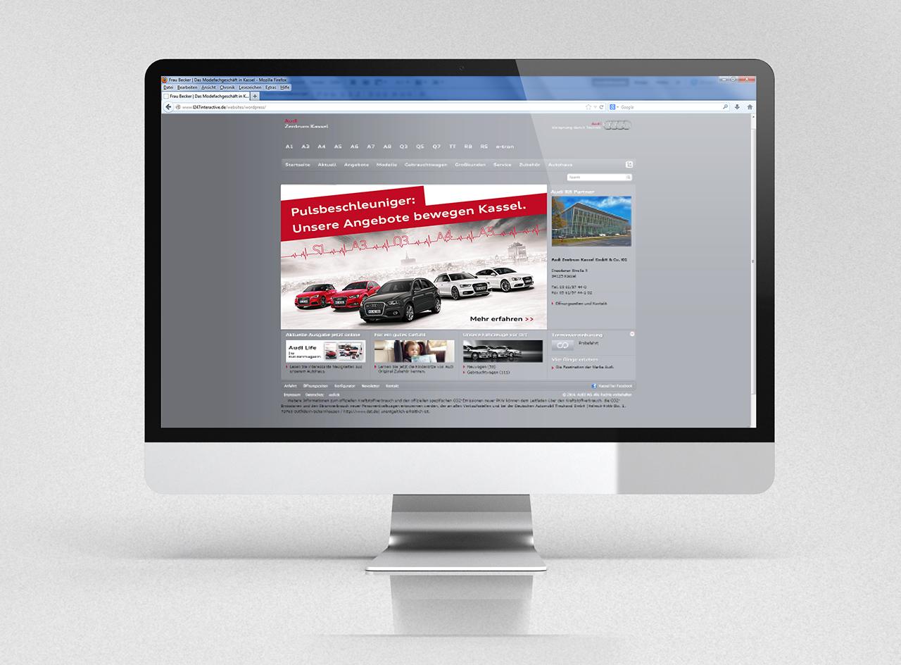 intonic werbeagentur audizentrum kassel kampagne web